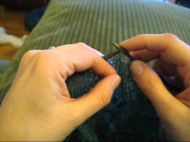 How to: Sturdy Bind Off (P2tog Method)