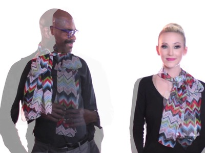 How to tie the perfect scarf with Fashion Designer Antthony Mark Hankins