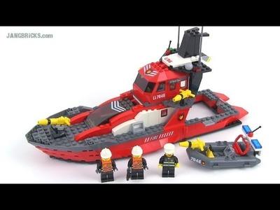 LEGO World City 7046 Fire Command Craft set review!