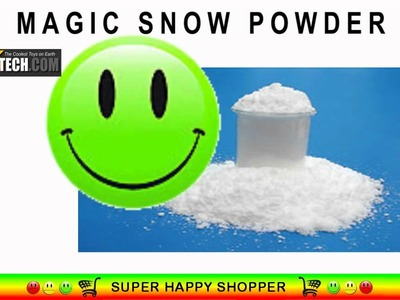 Magic Fake Snow Powder - Make Instant Artificial Flakes