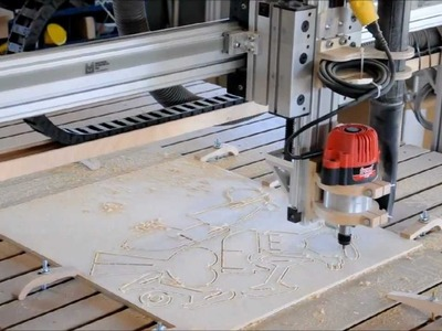 Midnight Robotics DIY CNC cutting out toy airplanes