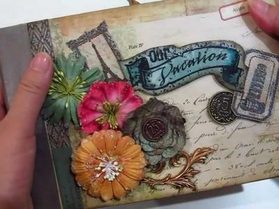 Molly's Beautiful European Vintage Mini Album
