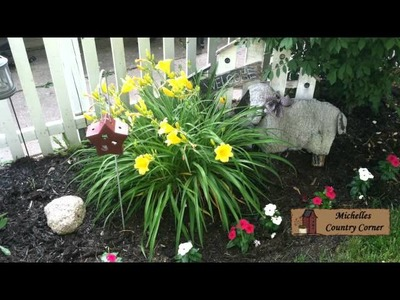 Outdoor Flower Displays - Country Decorating Ideas 2012