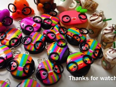 Polymer Clay Charm Update 8