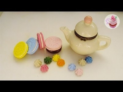 Polymer clay teatime