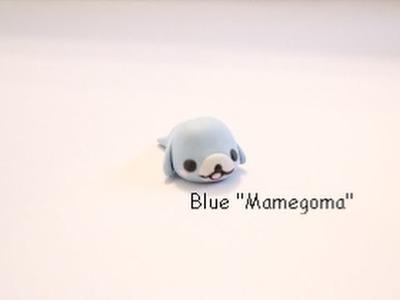 "Polymer Clay Tutorial: Blue ""Mamegoma"""