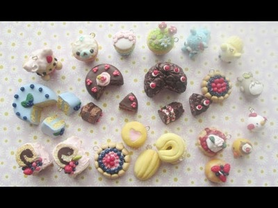 Polymer Clay Update #7 (Cakes, Cookies, CakeRolls)