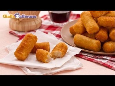 Potato croquettes - recipe