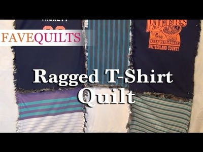 Ragged T-shirt Quilt Directions