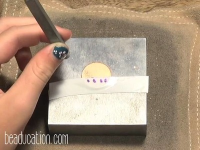 Stamping on Metal for Kids, DIY Craft - Beaducation.com