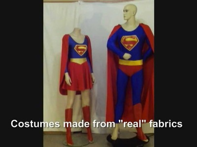 Supergirl Costume made by Annette in Australia