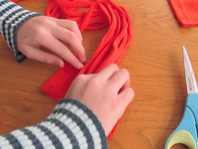 T-Shirt Scarf Instructions