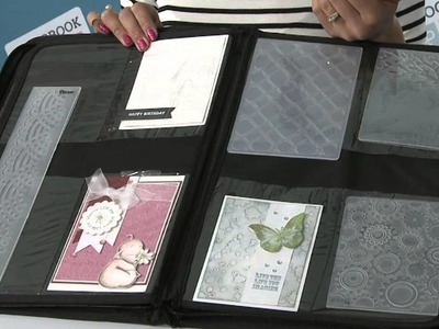 Tip of the Day: Organize Your Handmade Cards Using An Embossing Folder Case