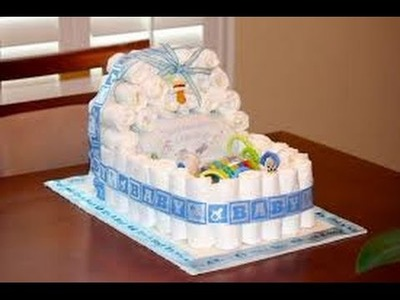 Baby Shower Diaper Cakes | Baby Shower Diaper Cakes For Boy | Baby Shower Diaper Cakes Ideas