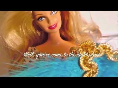 Barbie Clothes Tutorial: Angel Costume