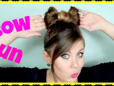 Bow Bun Tutorial (Easy!)