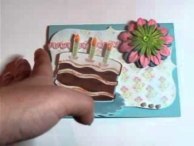 Cricut imagine Birthday Card