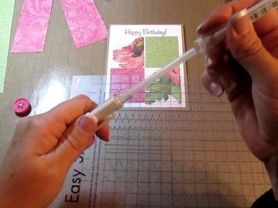 Female Birthday Card - Patchwork