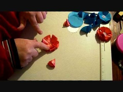 Flower Friday Episode 6 --Folded Petal Flower