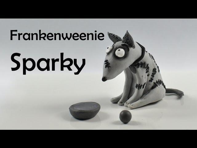Frankenweenie - Sparky - polymer clay TUTORIAL