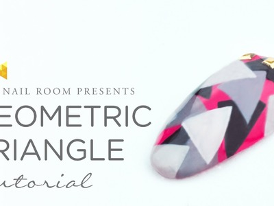 Geometric Triangle Nail Art - www.NEIRU.me Japanese Nail Art Tutorial [HD]