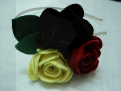 Handmade Felt Headbands