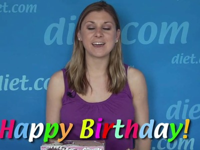 Happy Healthy Birthday Cake Ideas