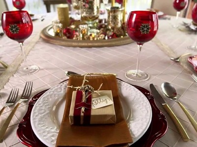 Holiday How To: Tabletop