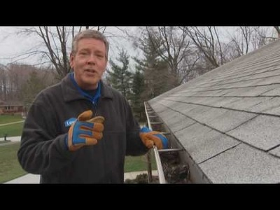 How to Clean Rain Gutters and Downspouts
