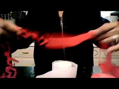 How To decorate using streamers VALENTINES DAY (serpentinas)  6