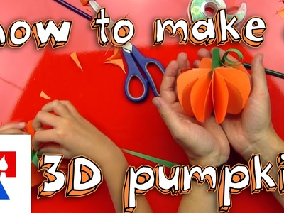 How To Make A 3D Pumpkin