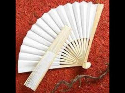 How To Make A Paper Fan-Quick-Easy-Simple-HD