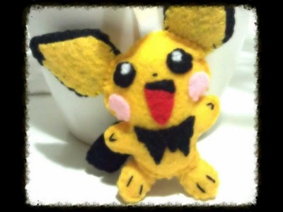How to Make a Pichu from Pokemon Plush Tutorial
