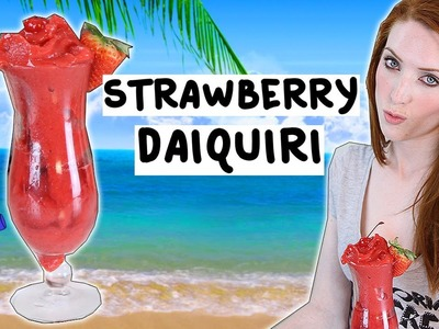 How to make a Strawberry Daiquiri - Tipsy Bartender