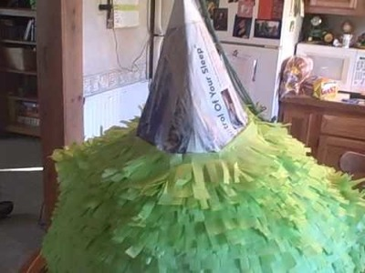 How to make a witch pinata