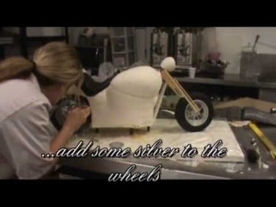 How to make an Amazing harley davidson cake.wmv
