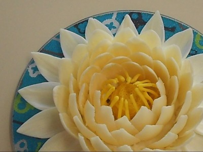 How to make chocolate Lotus flower