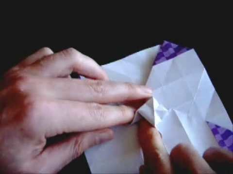 How to make the Origami Rose