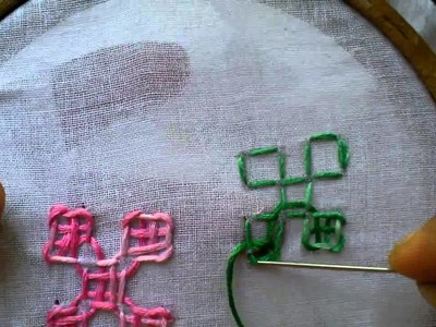 HOW TO SEW A CALCUTTA KUTCH WORK   -TUTORIAL