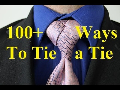 How To Tie a Tie   Diamond Knot for your Necktie