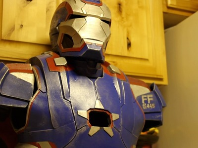 Iron patriot costume