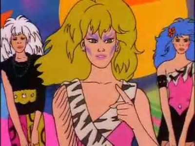 Jem and the Holograms.The Misfits Click Clash Music Video