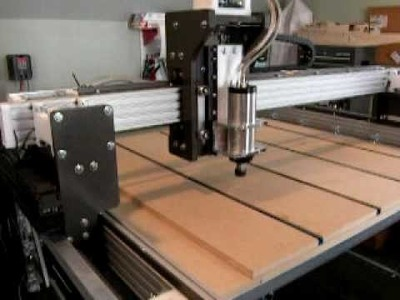 Joe's 4x4 Hybrid CNC Router with 2.2kw spindle