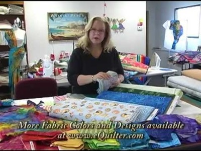 Luana's Pastel Batik Ideas from Seattle at eQuilter Studio