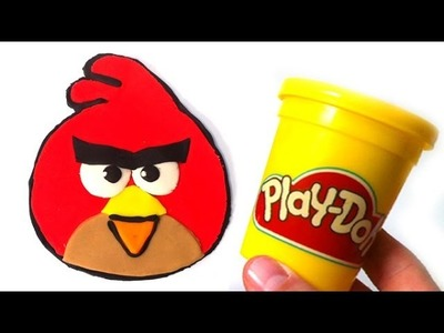 Play Doh How to make Angry Birds with play dough by Lababymusica