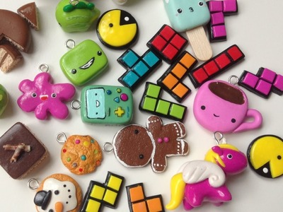 Polymer Clay Charm Update #17
