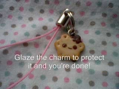 Polymer Clay: Kawaii Biscuit Charm Tutorial