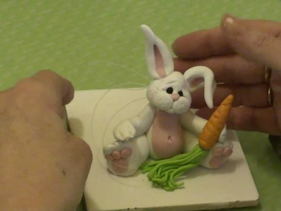 Polymer Clay Tutorial - How to make a Rabbit or Bunny Figurine