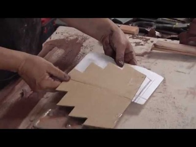 Pottery Video: How to Make a Homemade Draw Tool