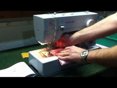 Singer 4423 Serging Stitch - How To